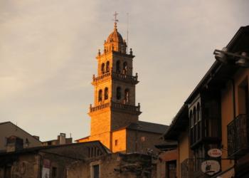 Torre de la iglesia de Ponferrada