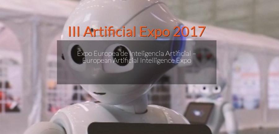 Cartel de Artificial Expo 2017