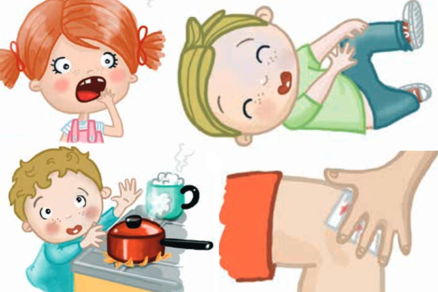 Guía para papás de primeros auxilios para peques