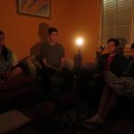 Sesión de meditación en La Peral