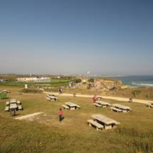 Merendero en el entorno de la Playa de Las Catedrales