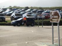 Parking de la Playa de Las Catedrales