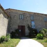 Fachada de la casa del Pazo de Sabadelle