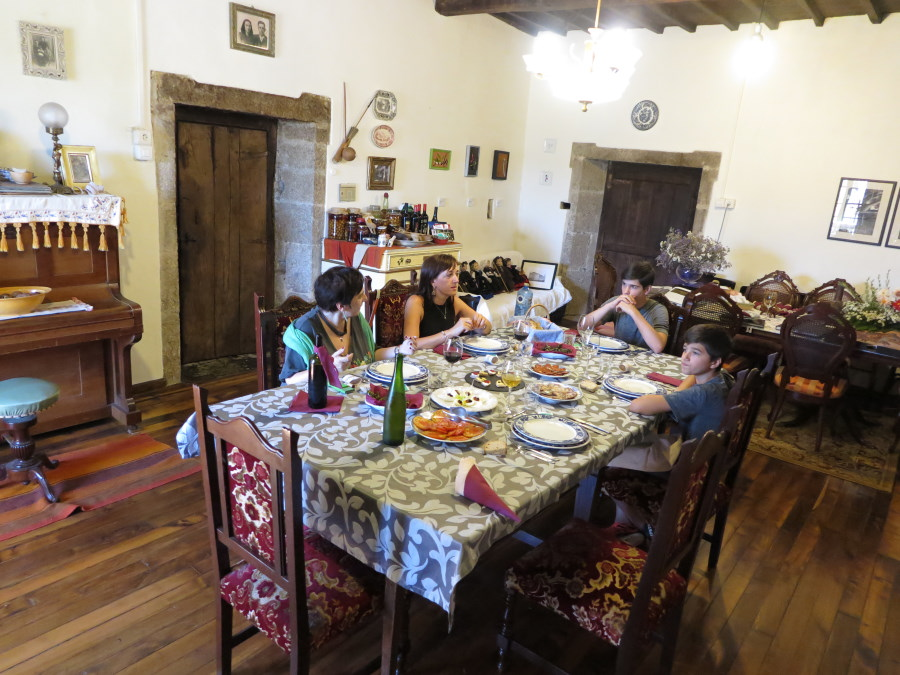 Comedor del Pazo de Sabadelle