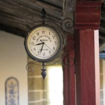 Reloj antiguo del Pazo de Sabadelle