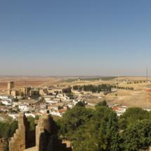 Vista de Belmonte desde el castillo