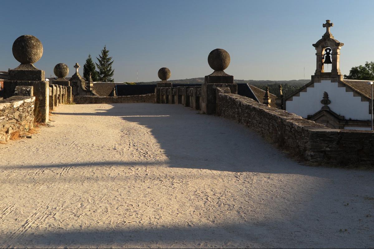 Camino de ronda de la Muralla Romana de Lugo