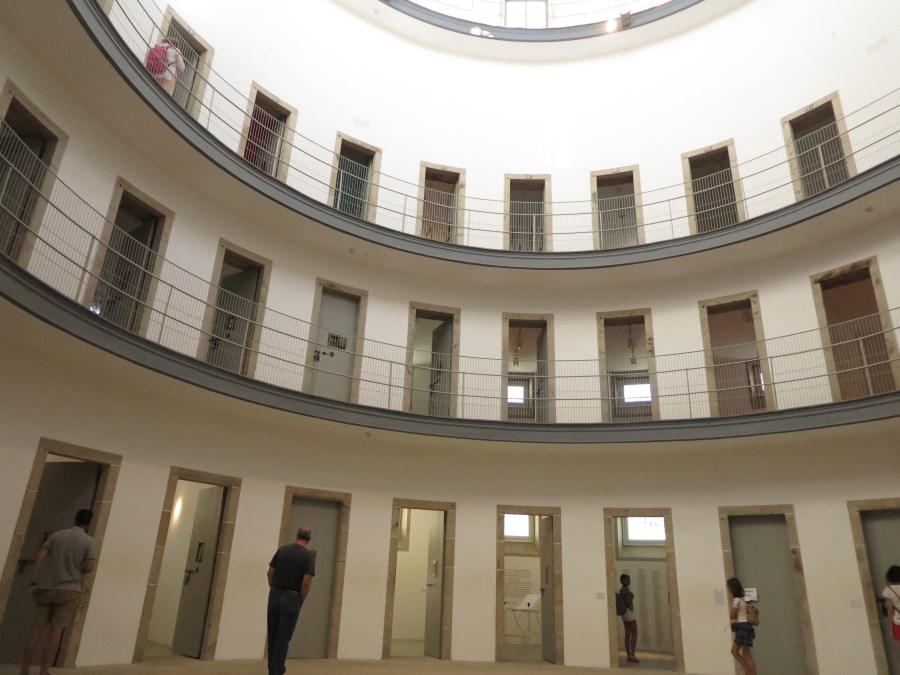 Interior de la cárcel vieja de Lugo