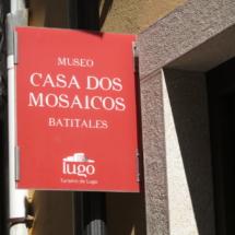 Casa de los Mosaicos, en Lugo
