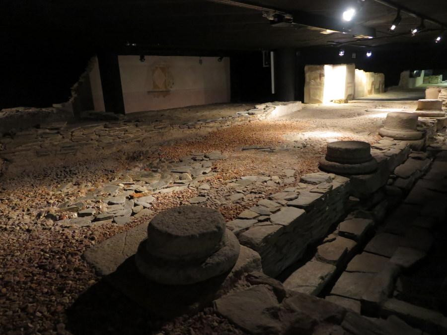 Mosaico, en la Casa de los Mosaicos de Lugo