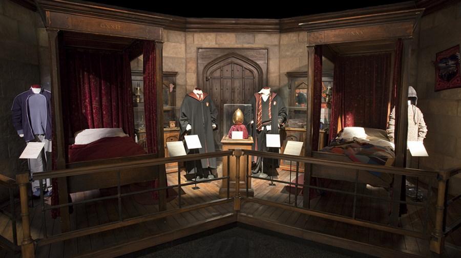 Escenario de la Exposición de Harry Potter