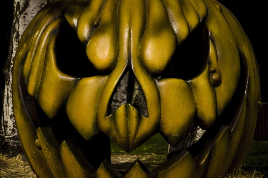 Calabaza de Halloween del Parque de Atracciones de Madrid