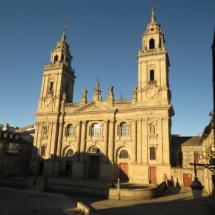 Fachada de la Catedral de Lugo