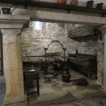 Lareira del Museo Provincial de Lugo