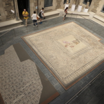 Mosaicos en el Museo Provincial de Lugo