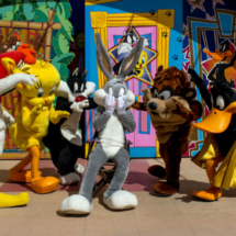 Los Looney Tunes también celebran Halloween en el Parque Warner