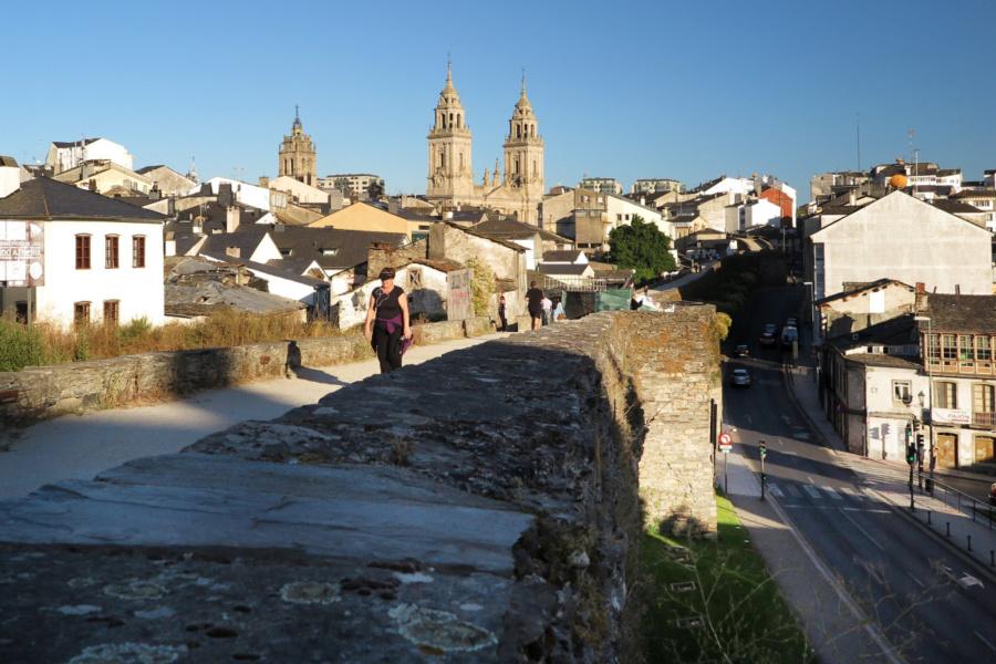 Vista de la ciudad de Lugo