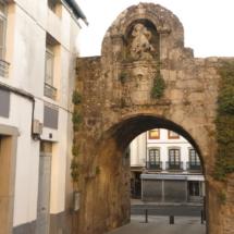 Puerta de Santiago de las Murallas Lugo