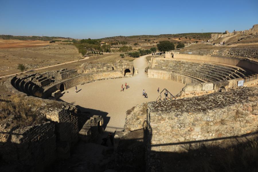 Anfiteatro de Segóbriga, las ruinas romanas de Cuenca