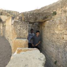 Interior del anfiteatro romano de Segóbriga