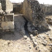 Cloaca de la antigua ciudad romana de Segóbriga