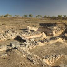 Construcciones de la antigua ciudad romana de Segóbriga