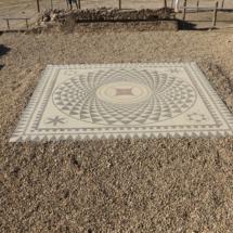 Mosaico romano en Segóbriga