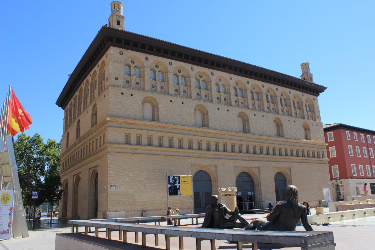 Visitamos la Lonja de Zaragoza, con los peques