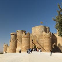 Vista del Castillo de Belmonte