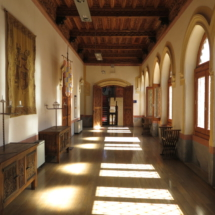 Antesala del Castillo de Belmonte