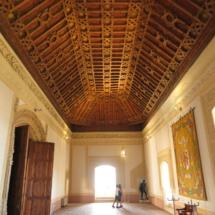 Artesonado del Castillo de Belmonte