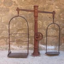 Báscula del Castillo de Belmonte
