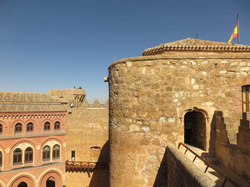 Camino de ronda del Castillo de Belmonte