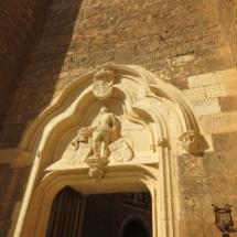Entrada del Castillo de Belmonte