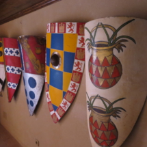 Escudos del Castillo de Belmonte