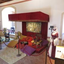 Estrado de damas del Castillo de Belmonte