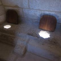 Letrinas del Castillo de Belmonte