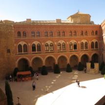 Patio de armas del Castillo de Belmonte