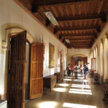 Acceso a salas del Castillo de Belmonte
