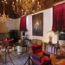 Salón Eugenia de Montijo del Castillo de Belmonte