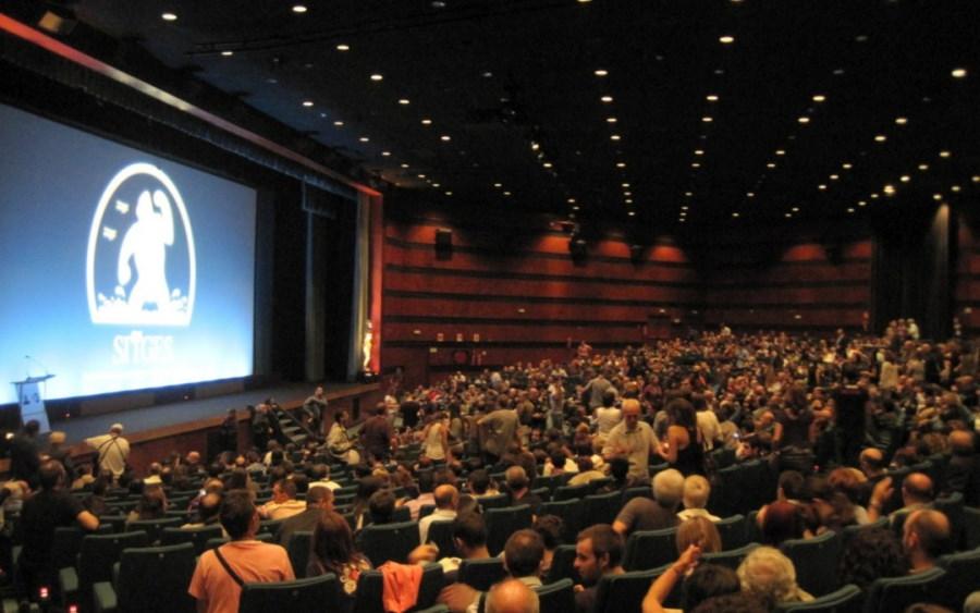 Sala cine repleta con motivo de la Fiesta del Cine