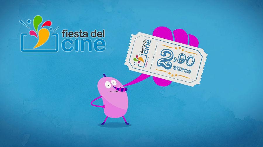 Durante la Fiesta del Cine puedes conseguir entradas por 2,90 euros.