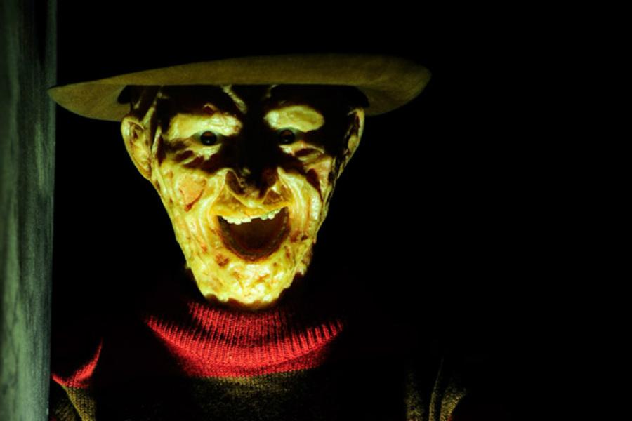 Personaje de terror en el ©Museo de Cera de Madrid