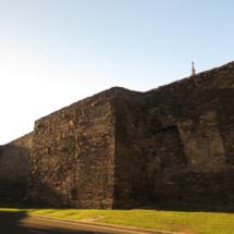 Vista general de la Muralla de Lugo