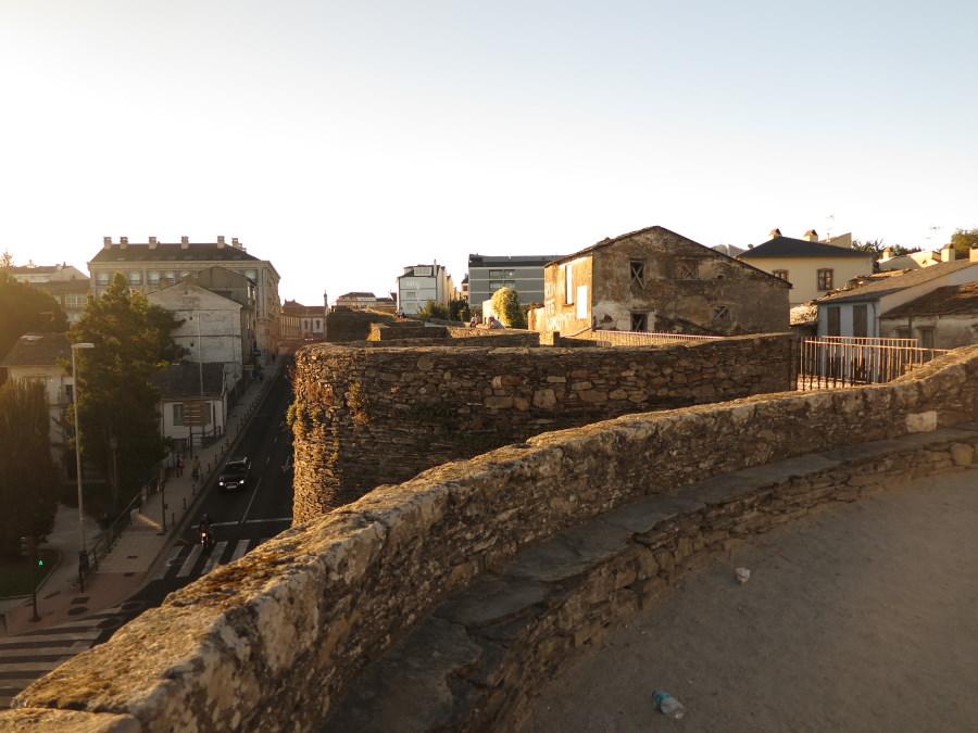 Paseo de ronda de la Muralla de Lugo