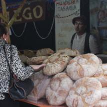 Puesto en el Mercado Cervantino de Alcalá de Henares