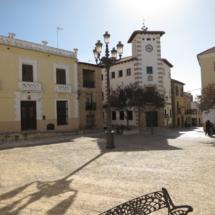 Plaza del Ayuntamiento de Belmonte
