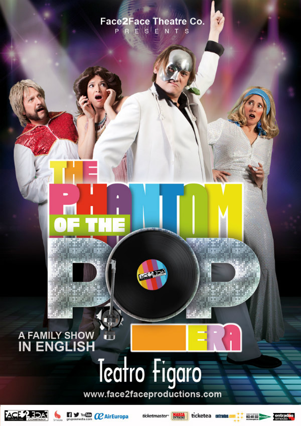 Cartel de 'The Phantom of the Pop Era'