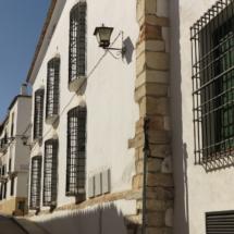 Típica casa manchega en Belmonte