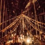 'Circo de Sastre', un espectáculo de luces, telas y música en Madrid